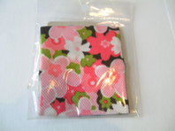 Flower patterned sweatband (Code 0569)
